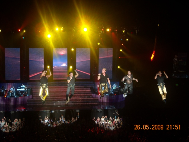 Boyzone @The 02 in May